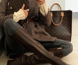 blogger, fall fashion, and Louis Vuitton image