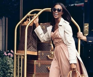 beauty, black women in luxury, and Naomi Campbell image