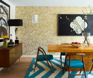 wallpaper desing ideas, stylish wallpaper ideas, and ideas for home wallpapers image