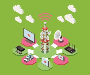 telecom industry and telecom asset management image