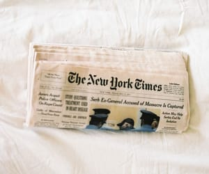 newspaper and The New York Times image