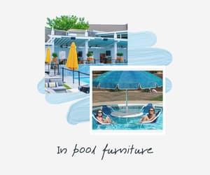 in pool patio furniture image