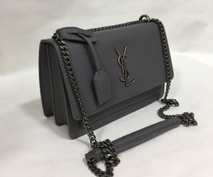 grey, YSL, and Yves Saint Laurent image