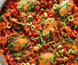 bake, tomato, and rice image