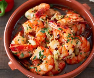 chilli, garlic, and seafood image