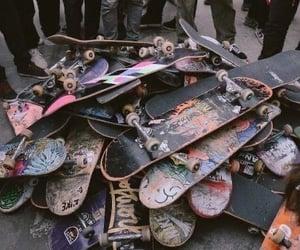 skateboard and grunge image