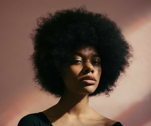 Afro, black, and hair image