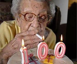 birthday, 100, and cake image