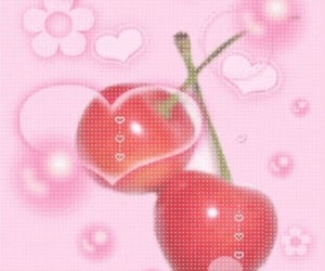 pink, cherry, and aesthetic image