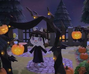 animal crossing, Halloween, and ac image