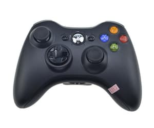 Xbox 360, gamepad, and wireless controller image