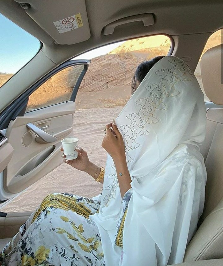 aesthetic, car, and hijab image