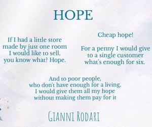hope, italian, and literature image