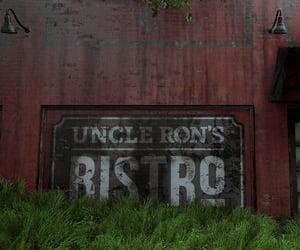 bistro, brick, and dystopian image