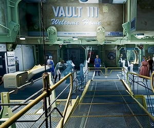 fallout, fallout 4, and vault 111 image