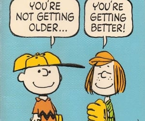 charlie brown and happy birthday image
