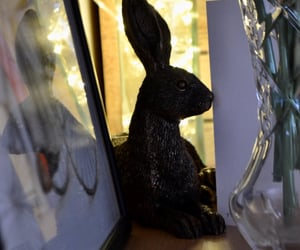 antique, hare, and home decor image
