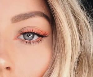 eyes, girls, and makeup girl image