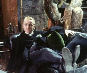 behind the scenes, draco malfoy, and hp image