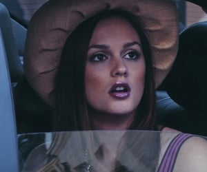 actress, hat, and leighton meester image