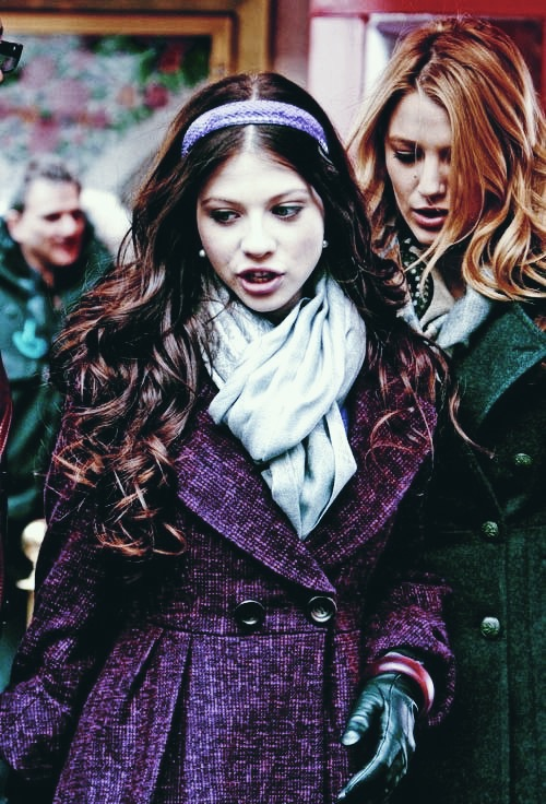 coat, girls, and michelle trachtenberg image