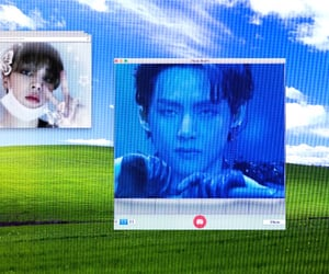 computer, macbook, and window image