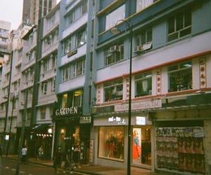 city, buildings, and fujifilm image