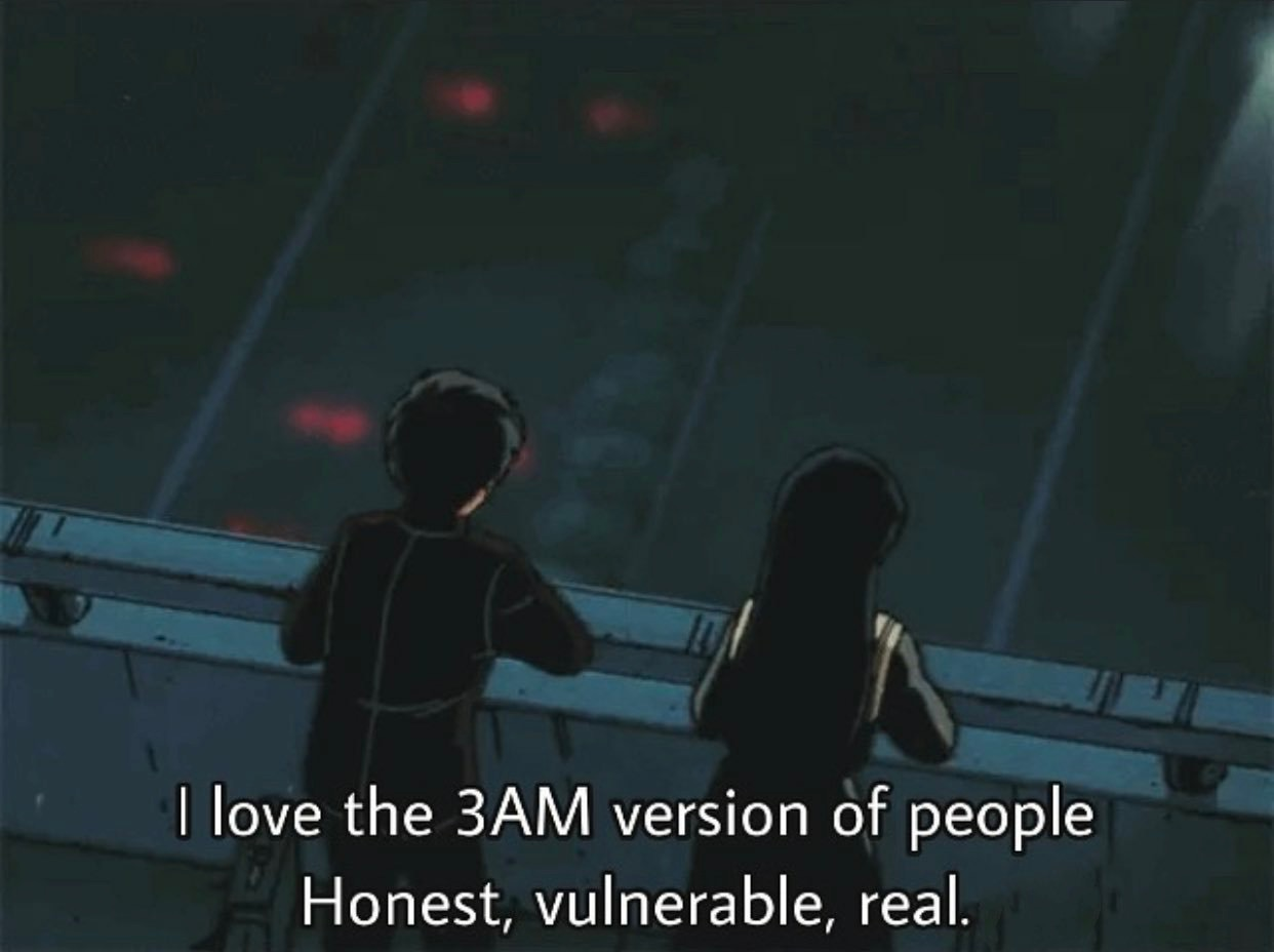 quotes, anime, and 3am image