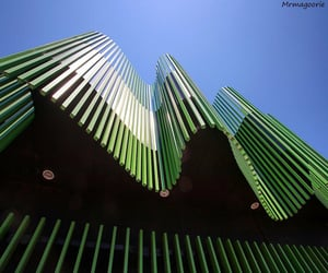 architecture, green, and melbourne image