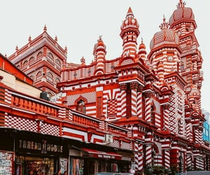 architecture, places, and red image