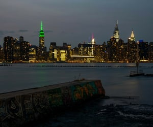 Brooklyn, east river, and manhattan image