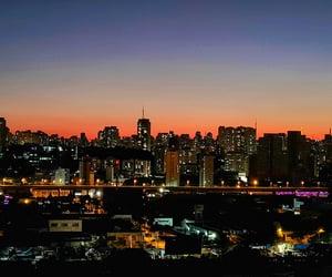 brazil, nightview, and sao paulo image