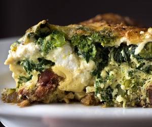 tortilla, italian sausage, and broccoli rabe image