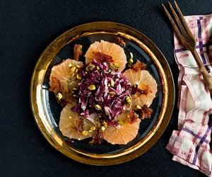 date, salad, and pistachio image