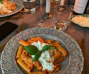 food, drink, and italy image