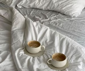 coffee, aesthetic, and bedroom image