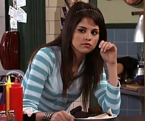 2008, alex russo, and brunette image