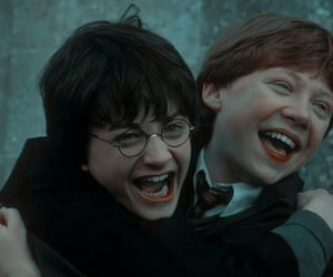 harry potter, book, and ron weasley image