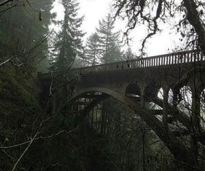 aesthetic, bridge, and dark image
