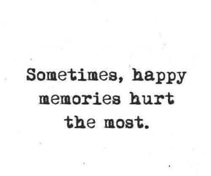 quotes, happy, and memories image