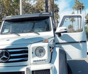 mercedes, summer, and gwagon image