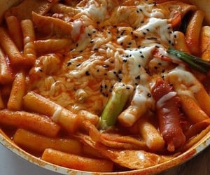 food, korean food, and korea image