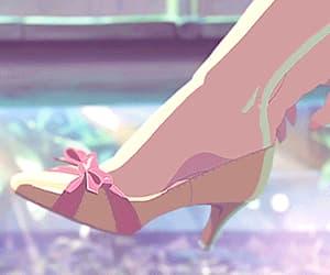 aesthetic, anime, and heels image