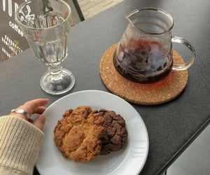 cafe, Cookies, and snack image