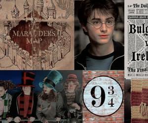 gryffindor, harry potter, and hogwarts house image