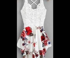 dress, dresses, and girl image