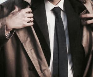 aesthetic, clothes, and castiel novak image
