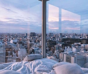 city, view, and aesthetic image