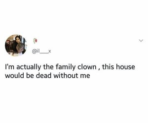 clown, family, and fun image