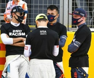 max verstappen, george russell, and lando norris image